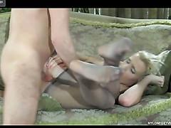 Martha&Rolf loving nylon footsex