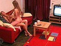 Pretty College Girls Strip and Go Down on Eachother!