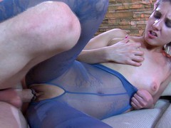 Madeleine&Connor A hardcore pantyhose action