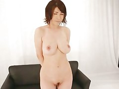 nippon beauty masturbates for an audience
