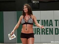 sluts wrestling exposed for domination