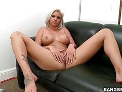 blonde babe deadra dee receives a cock