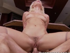 Anikka Allbrite knows how to get her chap to do what this playgirl wishes
