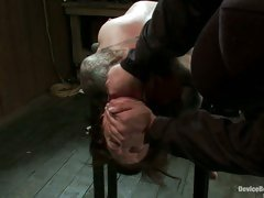 See this slave beg for greater quantity as her sweet, tender nipps are tortured.