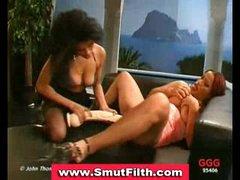 Bukkake loving girls blowjobs