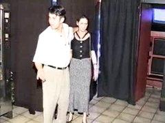 Preggo S&m gal fucked in sexshop